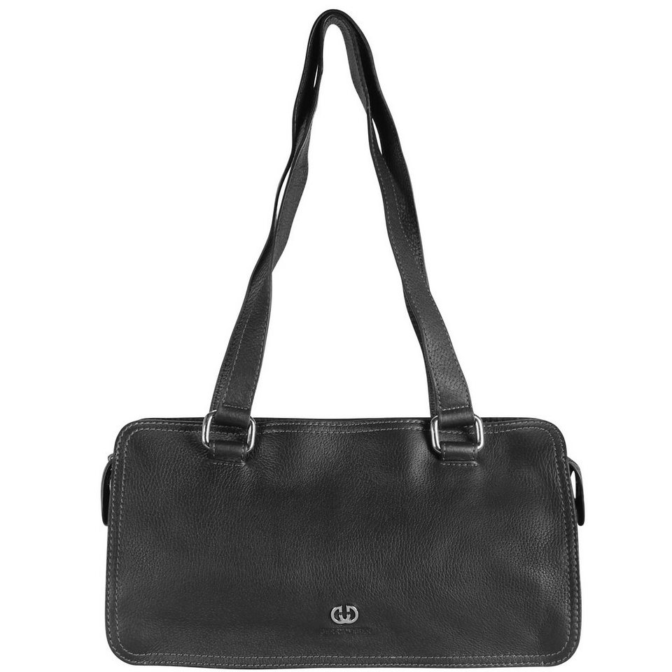Gerry Weber Los Angeles Handtasche Leder 33 cm in black