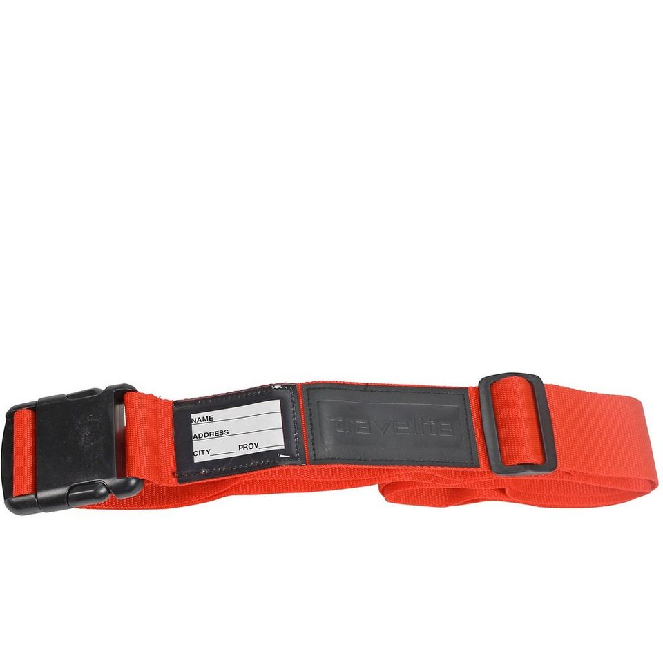 Travelite Accessoires Koffergurt farbig in orange
