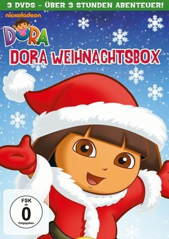 DVD »Dora - Dora Weihnachtsbox (3 Discs)«