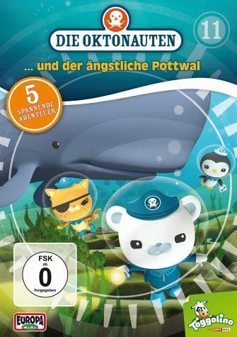DVD »Die Oktonauten... und der ängstliche Pottwal«
