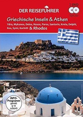 DVD »Der Reiseführer - Griechische Inseln & Athen...«