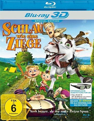 Blu-ray »Schlau wie eine Ziege (Blu-ray 3D)«