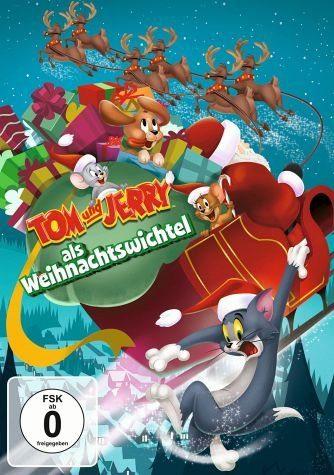 DVD »Tom & Jerry als Weihnachtswichtel«