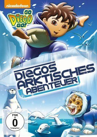 DVD »Go, Diego! Go! - Diegos arktisches Abenteuer«