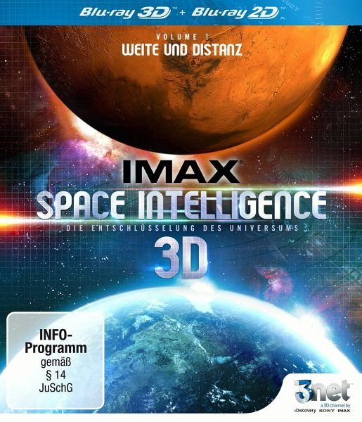 Blu-ray »IMAX: Space Intelligence 3D - Vol. 1: Weite...«