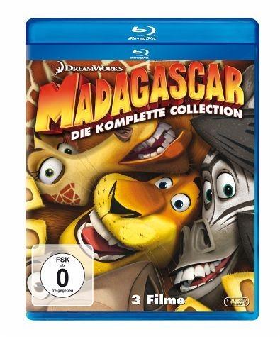 Blu-ray »Madagascar / Madagascar 2 / Madagascar 3:...«