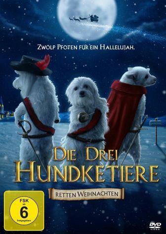DVD »Die drei Hundketiere retten Weihnachten«