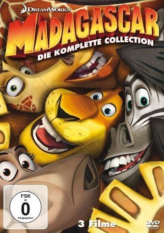 DVD »Madagascar / Madagascar 2 / Madagascar 3:...«