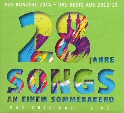Audio CD »Diverse: Songs An Einem Sommerabend«
