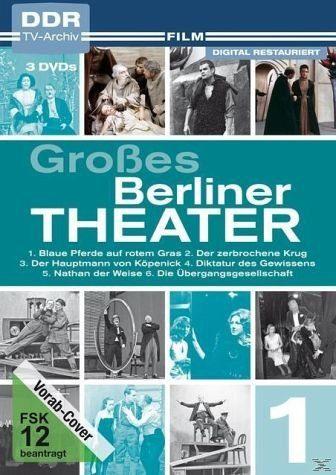 DVD »Großes Berliner Theater - Teil 1 (6 Discs)«