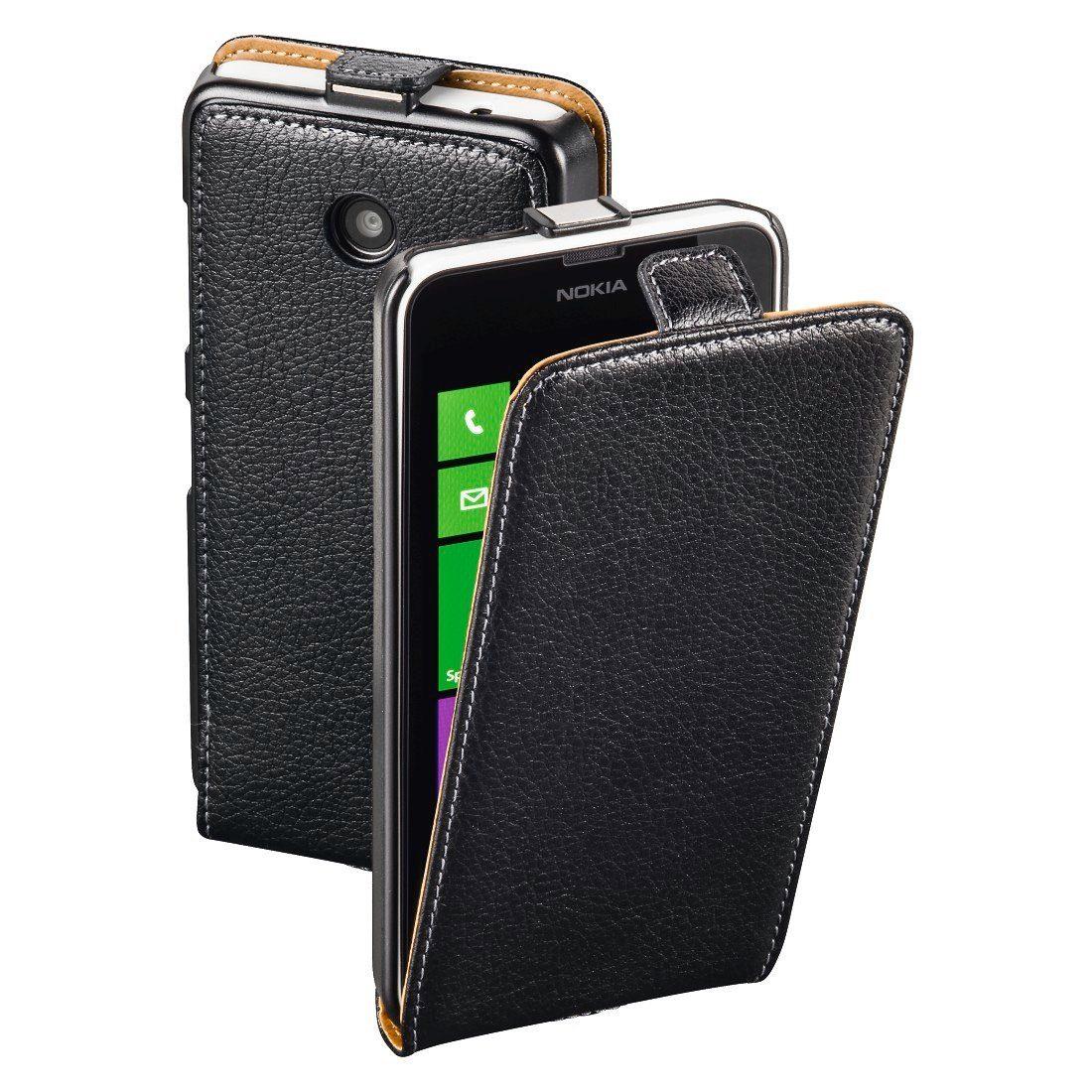 Hama Flap-Tasche Smart Case für Nokia Lumia 630/635, Schwarz