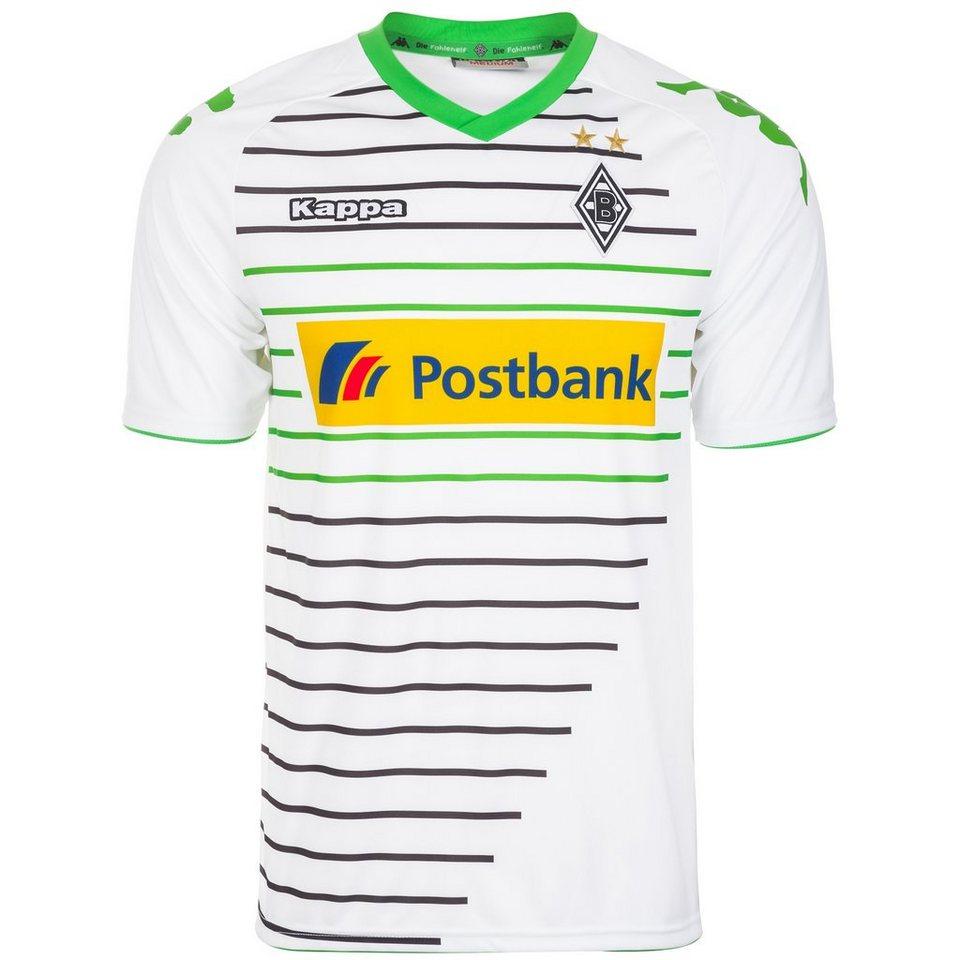 KAPPA Borussia Mönchengladbach Trikot Home 2013/2014 Herren in weiß / grün