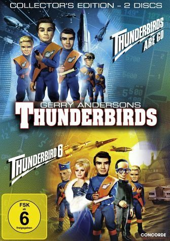 DVD »Thunderbirds Are Go / Thunderbird 6...«