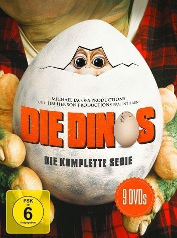 DVD »Die Dinos - Die komplette Serie (9 Discs)«