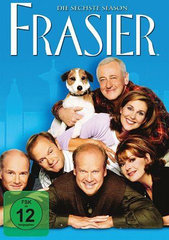 DVD »Frasier - Die komplette sechste Season (4 Discs)«