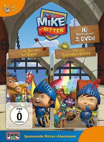 DVD »Mike, der Ritter Folge 1-2 (2 Discs)«