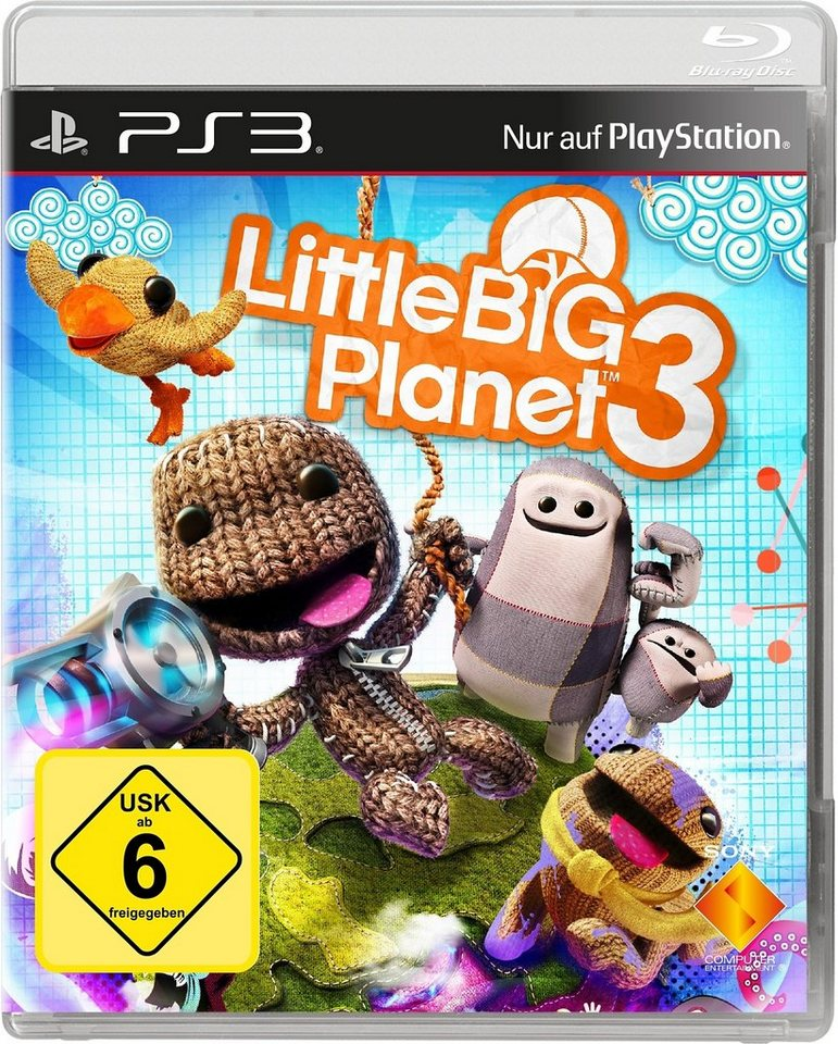 LittleBig Planet 3 PlayStation 3