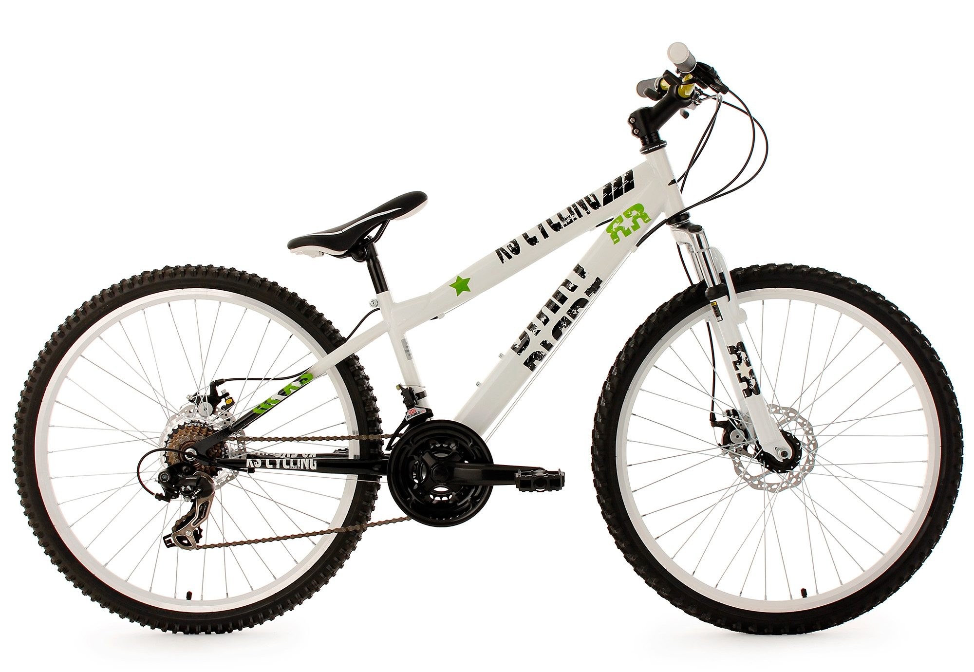 MTB Dirtbike, KS Cycling, »DIRRT«, Hardtail, 26 Zoll, 21 Gang Shimano Tourney, mech. Scheibenbremsen