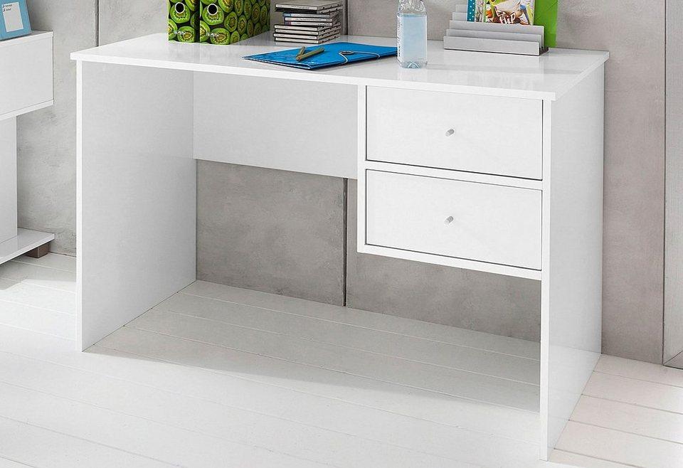 Schildmeyer Schreibtisch »Beli« in weiß-weiß