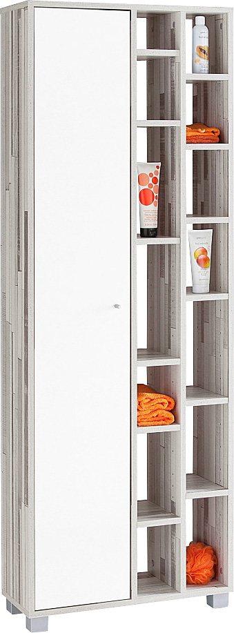 Regal, Schildmeyer, »Beli« in woodstripe-weiß