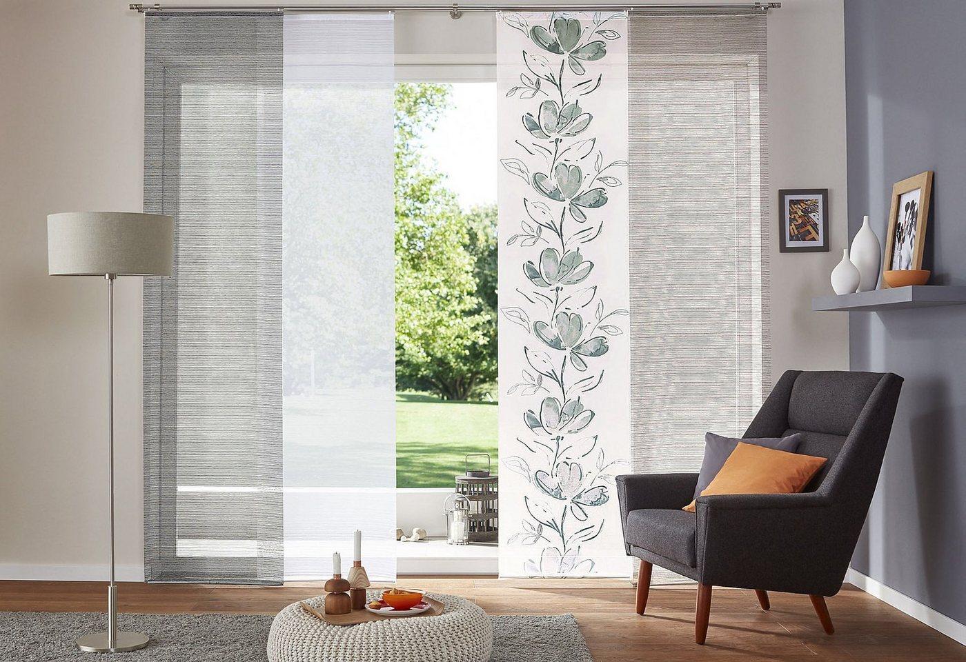 schiebe vorhang steine preisvergleiche erfahrungsberichte und kauf bei nextag. Black Bedroom Furniture Sets. Home Design Ideas
