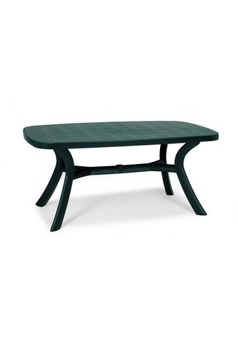 BEST Sodo stalas plastikas 192x105 cm grün