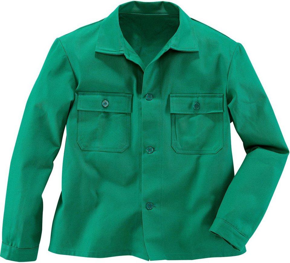 Arbeitsjacke in grün