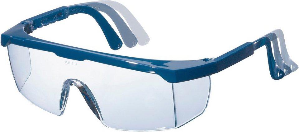 Schutzbrille in blau