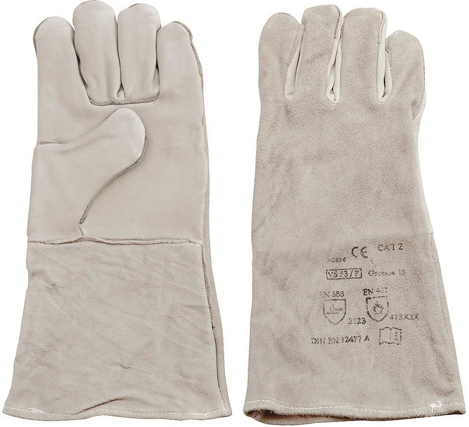 Handschuhe in grau