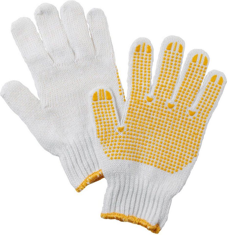 Handschuhe (12 Paar) in natur