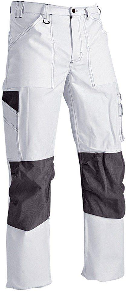 Arbeitshose »1091« in schwarz/weiß