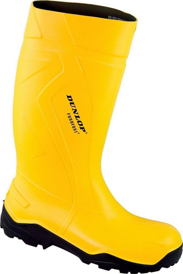 Dunlop Gummistiefel »Purofort Stiefel« in gelb
