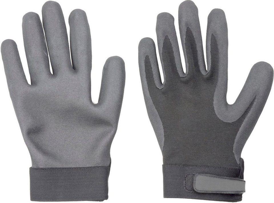 Handschuhe (2 Paar) in schwarz