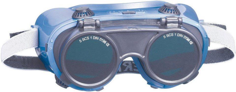 Schweißerschutzbrille 2er Set  in blau