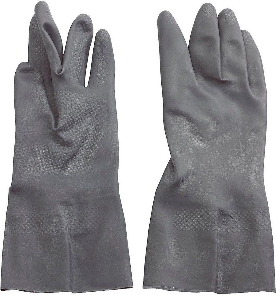 Handschuhe (6 Paar) in grau