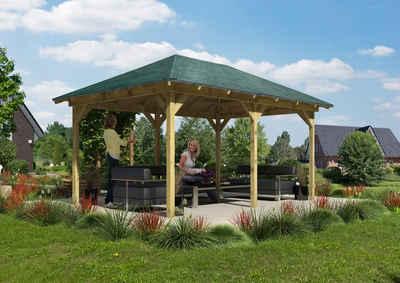Holzpavillon Online Kaufen Pavillon Aus Holz Otto