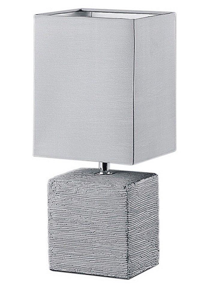 Tischleuchte, Trio, Höhe 29 cm in grau