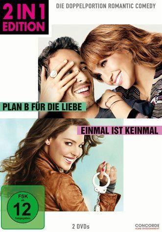 DVD »Plan B für die Liebe / Einmal ist keinmal (2...«