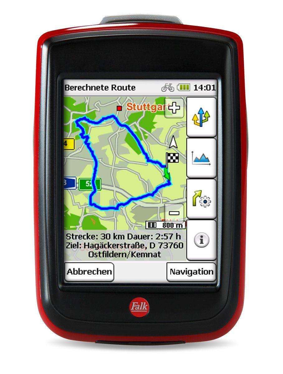 Falk Fahrradnavigationsgerät »IBEX 32 DEU (2014) Inkl. Upgrade 5.0«