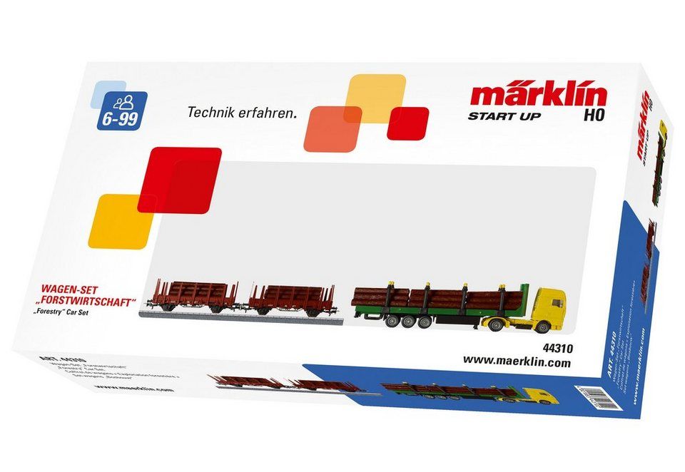 Märklin Wagen-Set, »Märklin Start up - Forstwirtschaft - 44310«