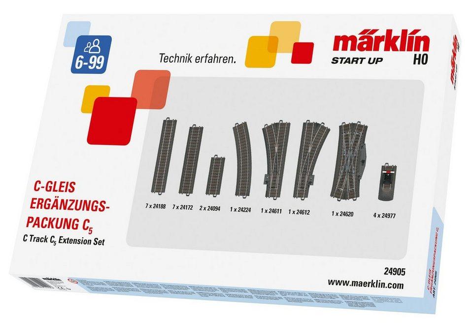 Märklin C-Gleis-Ergänzungspackung, »Märklin Start up - C5 - 24905«