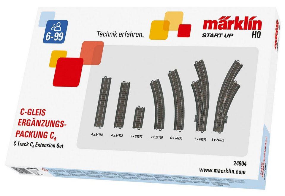 Märklin C-Gleis-Ergänzungspackung, »Märklin Start up - C4 - 24904«,