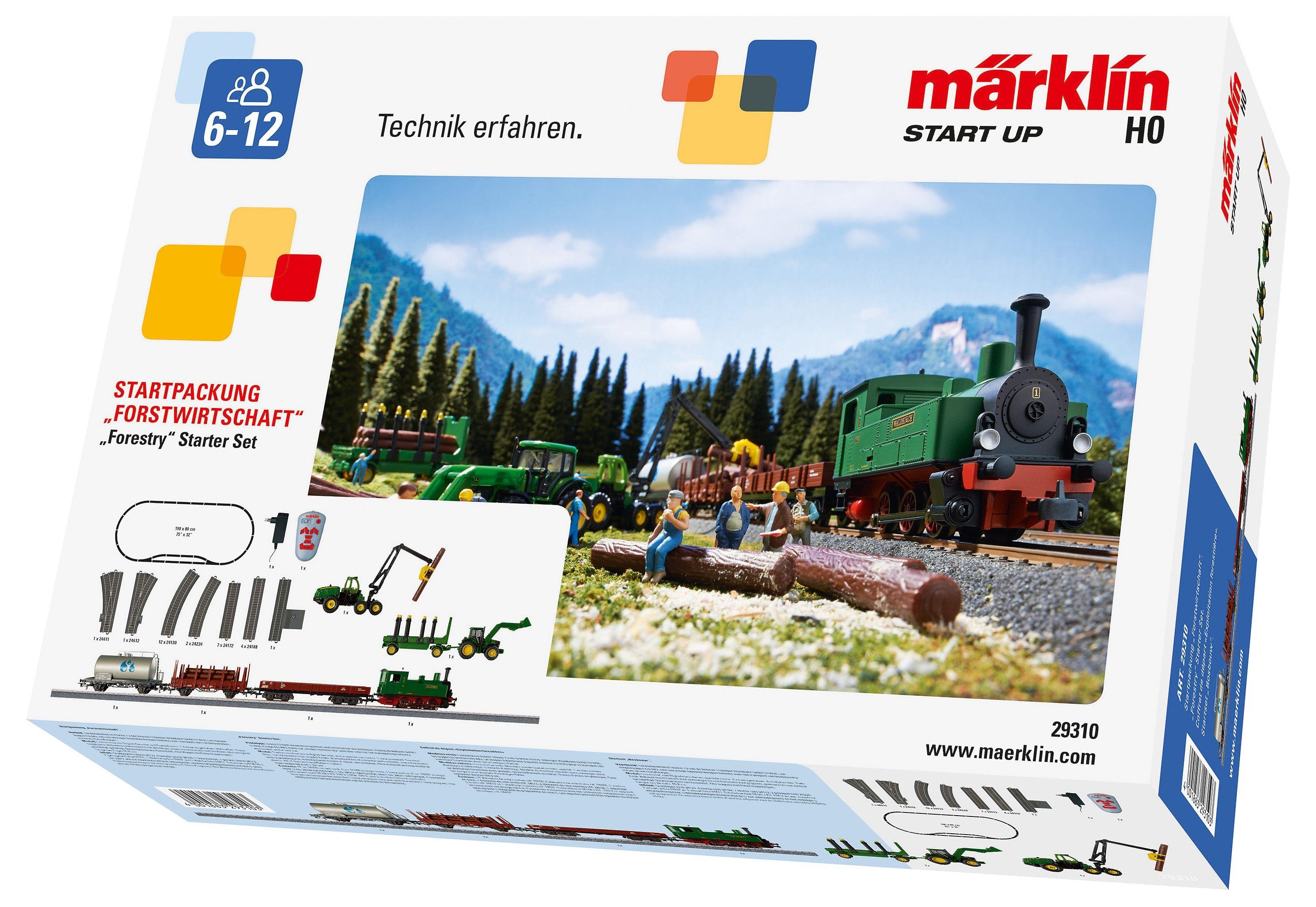 Märklin Zug-Startpackung, » Märklin Start up - Forstwirtschaft - 29310«