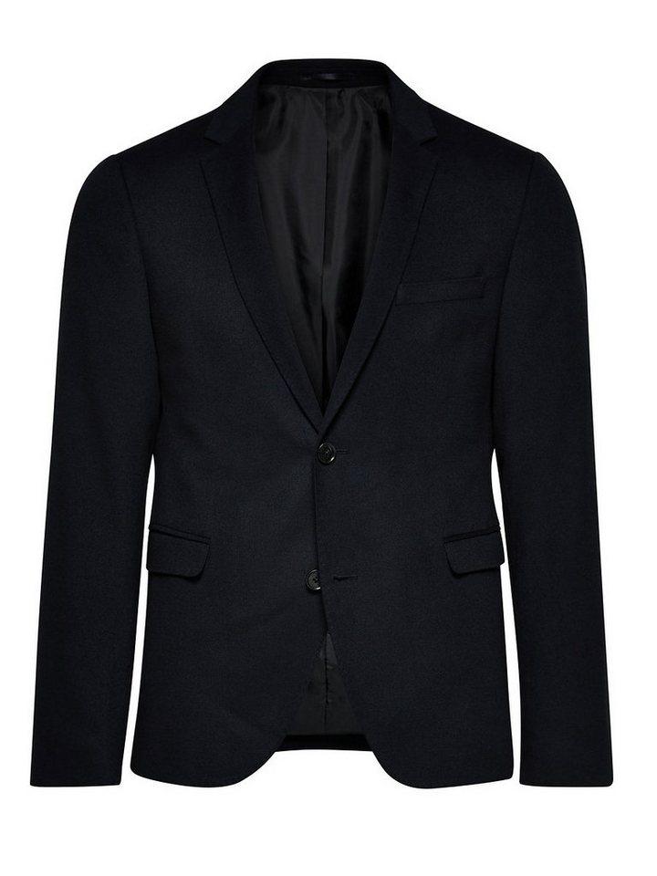 Jack & Jones Klassisch, Slim fit Blazer in Dark Navy
