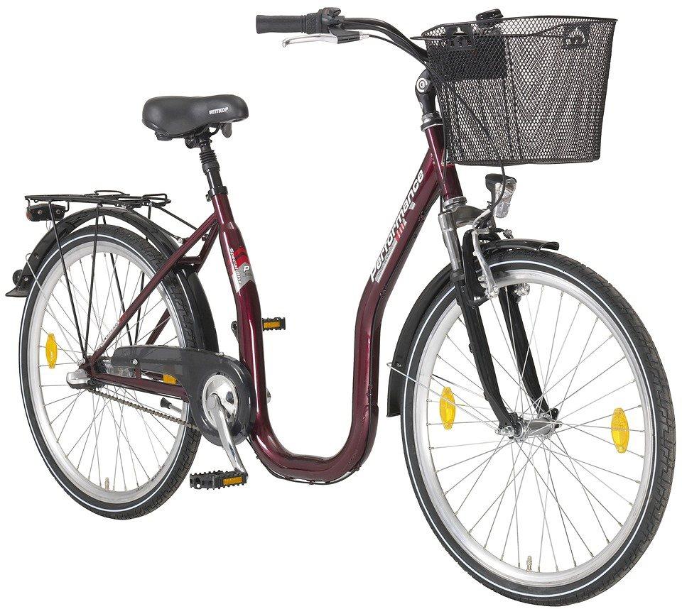 performance citybike tiefeinsteiger sylt 26 28 zoll 1 gang r cktrittbremse online kaufen otto. Black Bedroom Furniture Sets. Home Design Ideas
