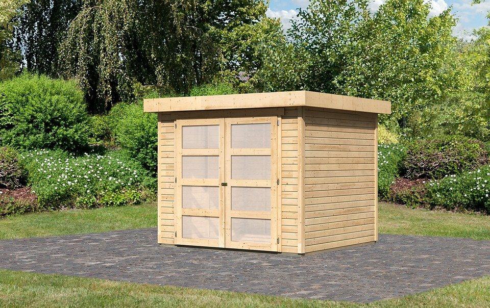 karibu gartenhaus m hlendorf 3 bxt 242x217 cm otto. Black Bedroom Furniture Sets. Home Design Ideas