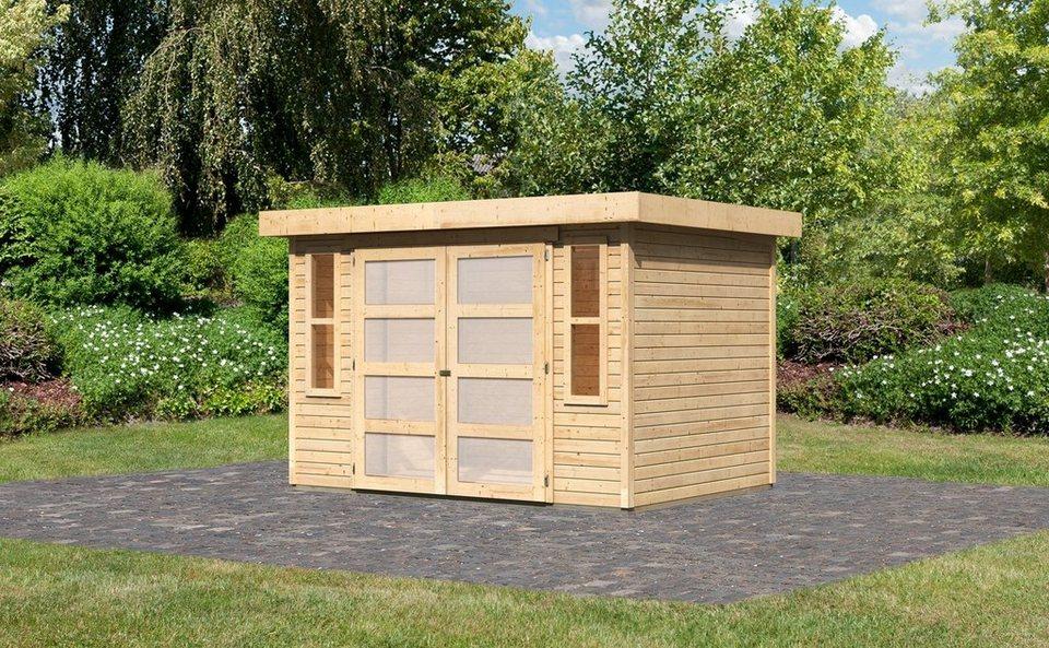 karibu gartenhaus m hlendorf 4 bxt 302x217 cm otto. Black Bedroom Furniture Sets. Home Design Ideas