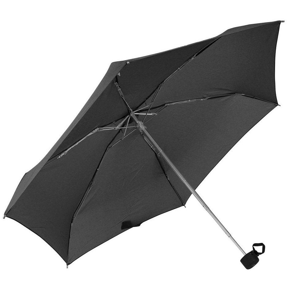 Samsonite Accessoires Lightdrop Taschenschirm 15 cm in black