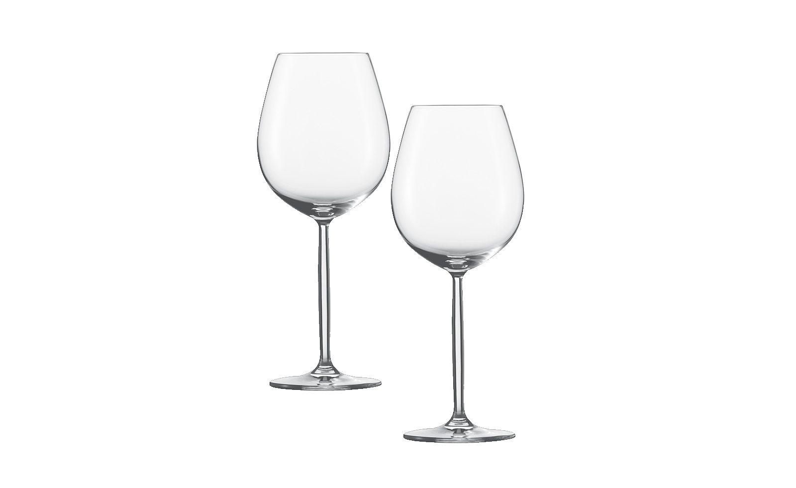 Schott Zwiesel Wasser / Rotweinglas 2er-Set »Diva«