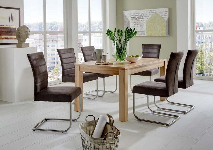 niehoff sitzm bel esstisch mit auszugsfunktion breite 140 cm online kaufen otto. Black Bedroom Furniture Sets. Home Design Ideas